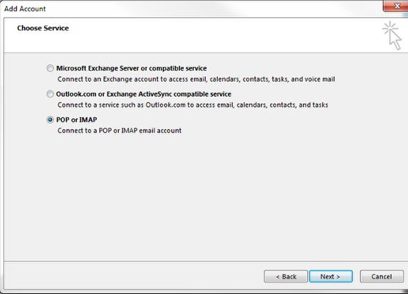 Setup RealNames email in Microsoft Outlook – RealNames